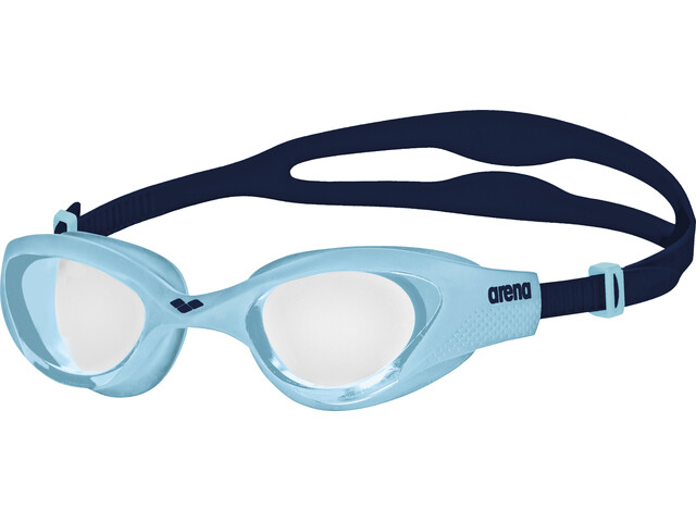arena The One Brille Kinder clear-cyan-blue